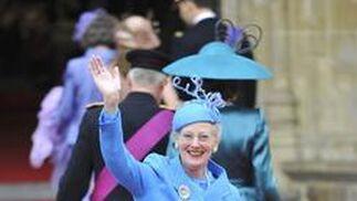 La Reina Margarita de Dinamarca.  Foto: Reuters