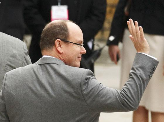 El príncipe Alberto de Mónaco.  Foto: Reuters