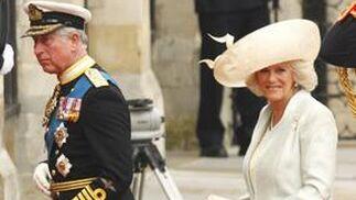 El príncipe Carlos y Camila Parker.  Foto: Reuters