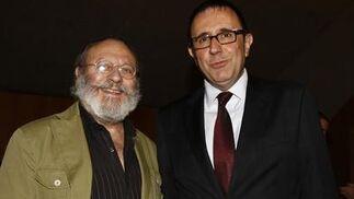 El crítico musical Arturo Reverter y Félix Palomero, director general del Inaem. / A. Pizarro · V. Hidalgo