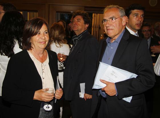 Carmen Reina y Alfonso Guerra. / A. Pizarro · V. Hidalgo