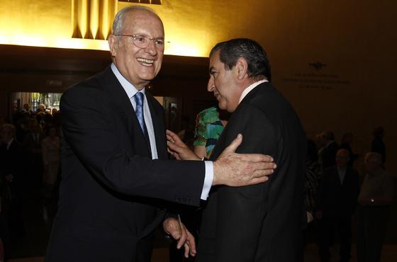 Luis Uruñuela y Alfonso Garrido. / A. Pizarro · V. Hidalgo