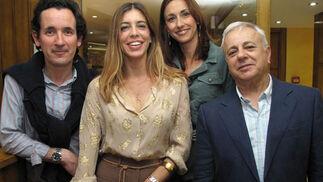 Nono del Barco, Rocío Puch, Alexandra Hoffer y Braulio Vázquez.  Foto: Victoria Ramírez