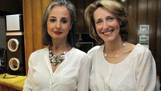 La empresaria Cuqui Castellanos y la princesa Luisa de Orleans.  Foto: Victoria Ramírez