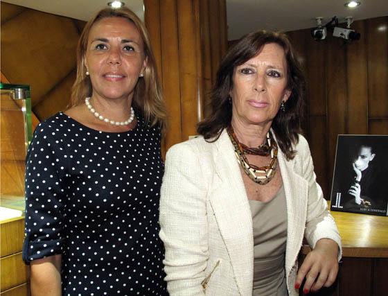Rocío Silva y María José Giménez.  Foto: Victoria Ramírez