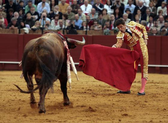 El Juli obtuvo un éxito sin paliativos.  Foto: Juan Carlos Muñoz
