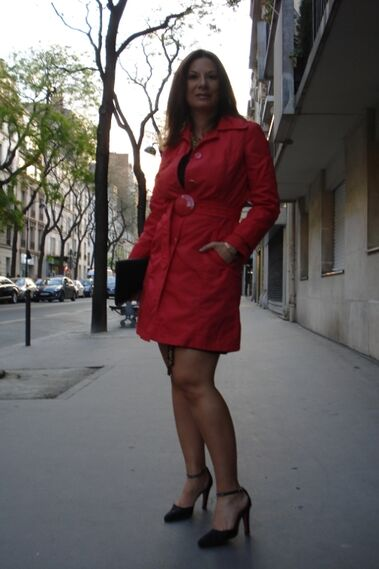 Red in Paris - Outfit