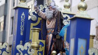 El Rey Melchor, encarnado por Eduardo González-Mazo.   Foto: Jesus Marin
