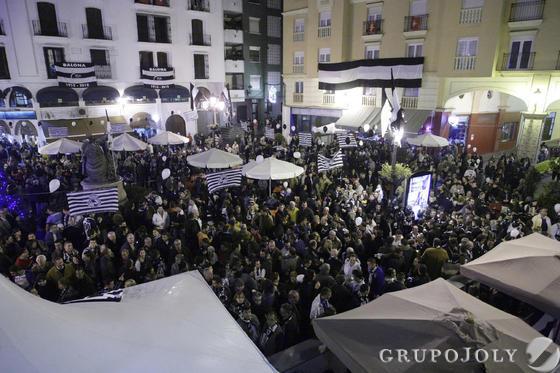 Vista general de la Plaza de la Iglesia.   Foto: Erasmo Fenoy