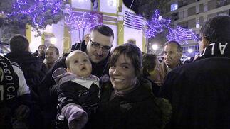 Los más pequeños también se unen a la celebración.  Foto: Erasmo Fenoy