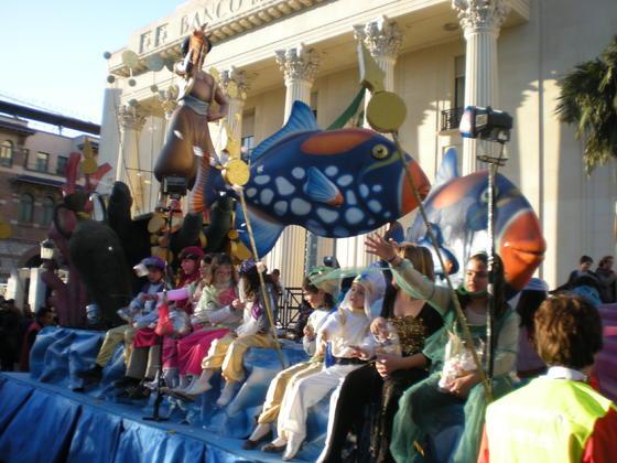Carrozas de la Cabalgata de Málaga  Foto: I. Mateos
