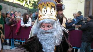 Su Majestad el Rey Melchor  Foto: I. Mateos