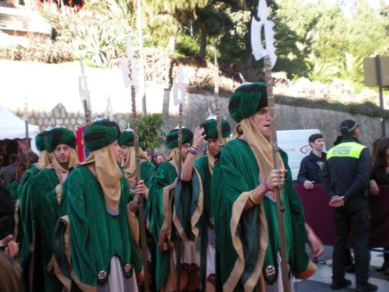 Parte de la Guardia Real  Foto: I. Mateos
