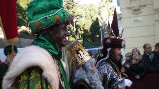 Los Reyes Magos Melchor, Gaspar y Baltasar   Foto: I. Mateos