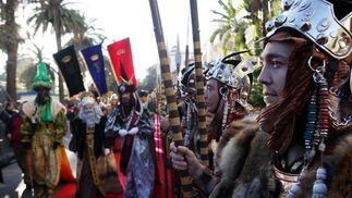 La Cabalgata de los Reyes Magos llenó las calles de Málaga de ilusión  Foto: Migue Fernandez