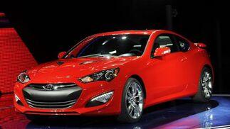 Hyundai Genesis Coupe.  Foto: AFP