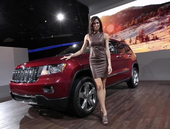 Jeep Grand Cherokee.  Foto: AFP