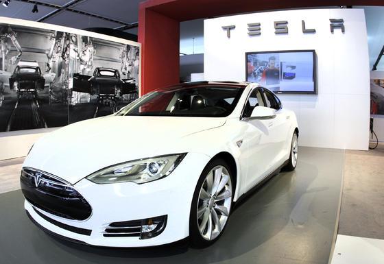 Tesla Model S.  Foto: AFP