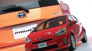 Toyota Prius C.  Foto: AFP