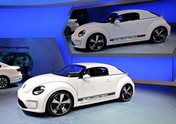 Volkswagen E-Bugster.  Foto: AFP