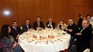 Rosa Díaz; Jesús Galeote; Fran Ramos; Juan Maldonado; Aurelio López; Alicia Murillo; Antonio Vargas y Antonio Serrano.  Foto: S. Camacho· Migue Fernandez