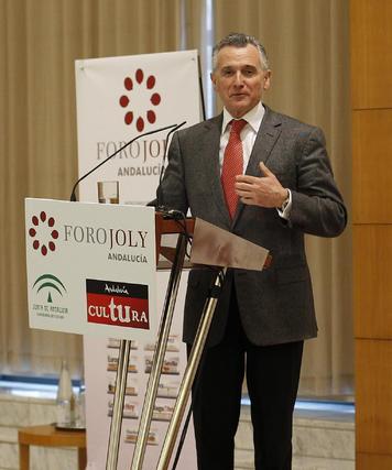 Plata, en otro momento de su discurso.  Foto: S. Camacho· Migue Fernandez