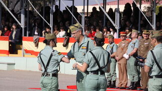 Las imágenes del Día del Veterano de la Brigada de La Legión