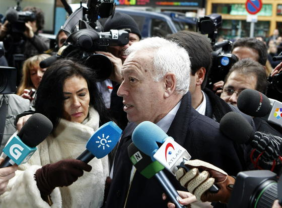 El ministro de Exteriores, José Manuel García Margallo. / EFE