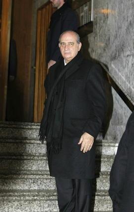 El ministro del Interior, Jorge Fernández Díaz. / EFE