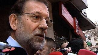 Mariano Rajoy habla a la prensa. / EFE