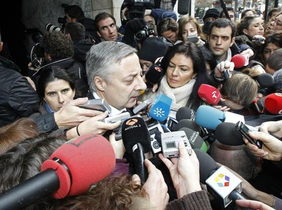 El ex ministro de Fomento, el gallego José Blanco. / EFE