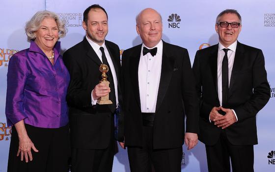 Los productores de 'Downton Abbey', Globo de Oro a mejor mini-serie. / AFP