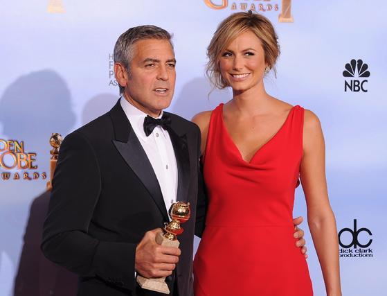 George Clooney, Globo de Oro a mejor actor de drama por 'The descendants'. / AFP