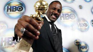 Idris Elba, Globo de Oro a mejor actor principal en una mini-serie o película televisiva por 'Luther'. / Reuters