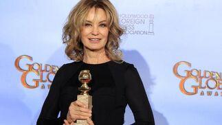 Jessica Lange, Globo de Oro a mejor actriz secundaria de mini-serie o película para televisión por 'American Horror Story'. / Reuters