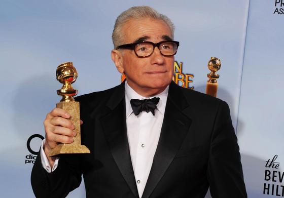 Martin Scorsese, Globo de Oro a mejor director por 'Hugo'. / AFP