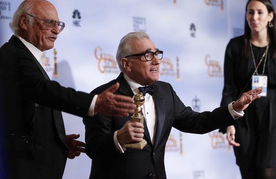 Martin Scorsese, Globo de Oro a mejor director por 'Hugo'. / Reuters