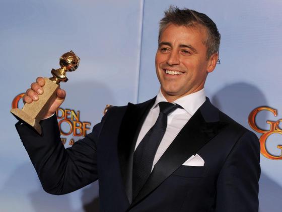 Matt Leblanc, Globo de Oro a mejor actor principal de serie comedia o musical por 'Episodes'. / AFP