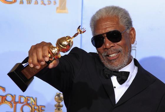 Morgan Freeman, premio honorífico Cecil B. DeMille por su trayectoria. / Reuters