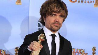 Peter Dinklage, Globo de Oro a mejor actor secudnario de mini-serie o película de televisión por 'Juego de Tronos'. / Reuters