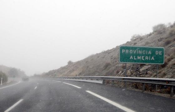 Las imágenes del primer temporal del invierno