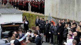 Los restos de Manuel Fraga en Perbes.  Foto: Efe/Reuters