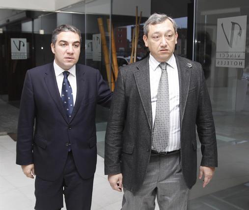 Elías Bendodo y Antonio Méndez  Foto: Reportaje gr?co: Migue Fernandez y Sergio Camacho