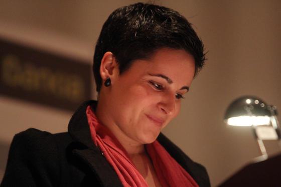 Miriam Reyes, estudiante de arquitectura.  Foto: O. Barrionuevo / lvaro Carmona