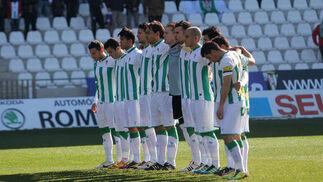 El Córdoba no puede coronar con una victoria su dominio ante el Celta de Vigo en el Arcángel (0-0). / José Martínez