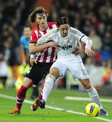 El Real Madrid golea 4-1 al Athletic de Bilbao de Bielsa en el Bernabéu. / AFP