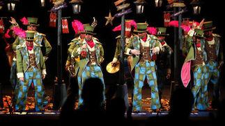 Comparsa Los bailarines  Foto: Jesus Marin