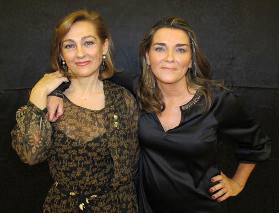 Las hermanas María delMar y Delia Núñez Pol, diseñadoras de la firma Pol Núñez.  Foto: Victoria Ramírez