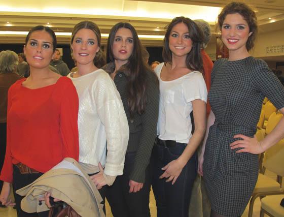 Blanca Álvarez Núñez, Macarena de la Parra, Fabiola de la Lastra, Ana María Rodríguez de la Borbolla y Cristina Moreno de la Cova Ybarra.  Foto: Victoria Ramírez