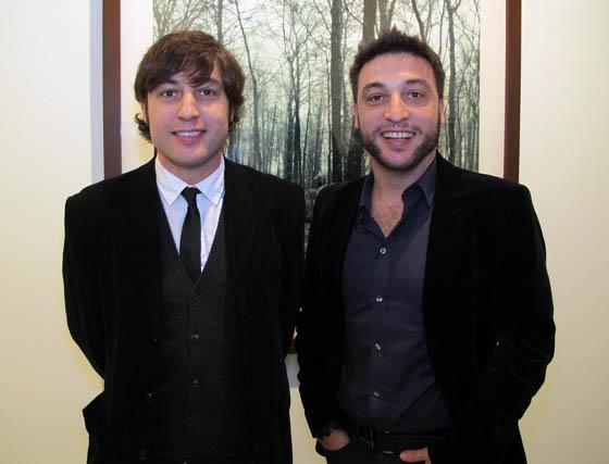Los hermanos Sema y Eduardo D´Acosta.  Foto: Victoria Ramírez